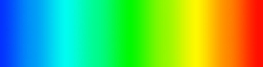 Visible Colour Spectrum