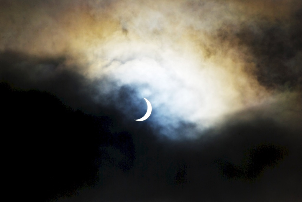 Edinburgh, Scotland, Solar Eclipse Friday 20th March 2015